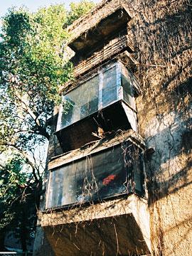 青山アパート 窓のディテール