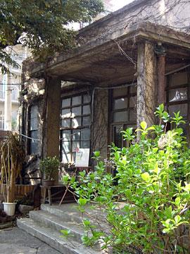 江戸川アパート食堂 入口