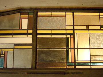 食堂のステンドグラス