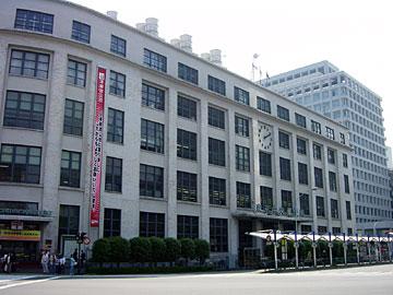 東京中央郵便局 ファサード