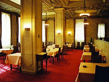 綿業会館 食堂
