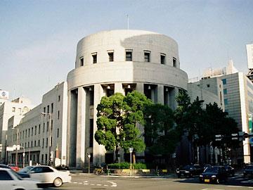 大阪証券取引所 かつての外観