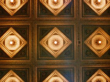 大阪ビルヂング旧館 メインエントランス天井