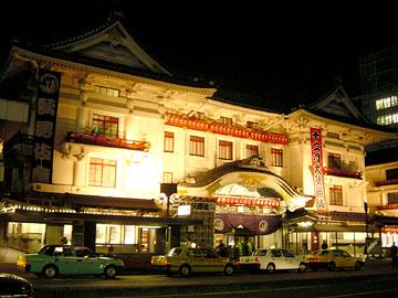 歌舞伎座 夜景
