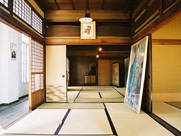 秋田商会2階書院風住居