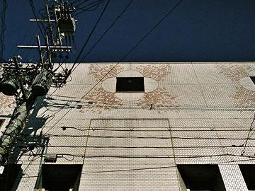 吉本会館 外壁詳細