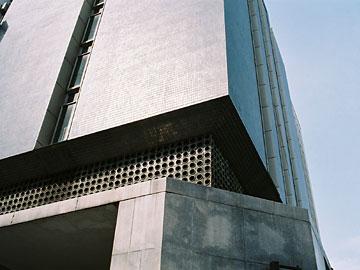 旧親和銀行東京支店 ファサード見上げ