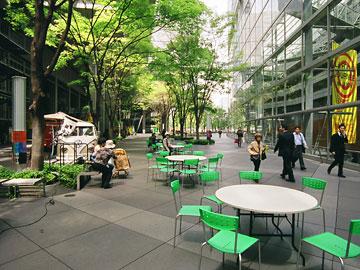 東京国際フォーラム オープンスペース