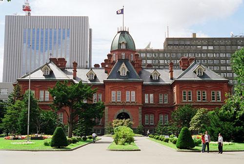 北海道庁旧本庁舎 外観