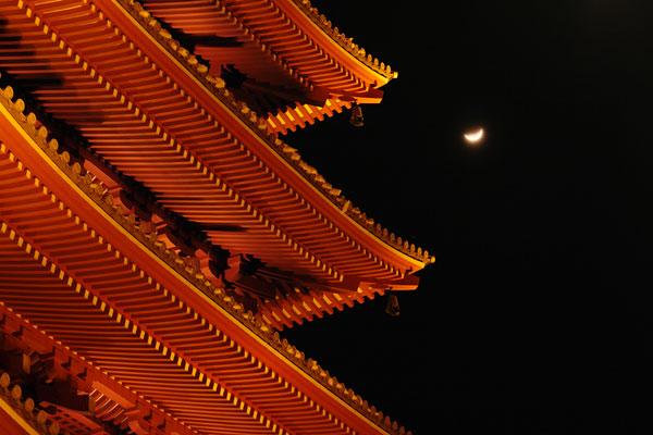 Senso-ji Temple , Tokyo , Japan