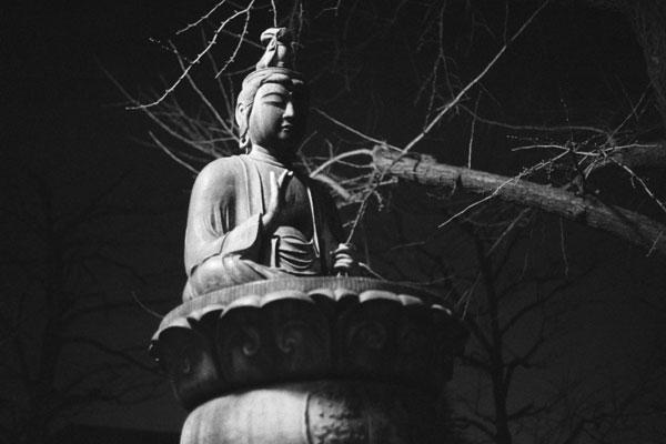 Sho-Kannon Bosatsu-zo, Senso-ji, Asakusa, Tokyo, Japan