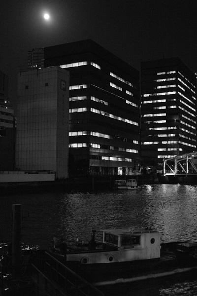 The Kamejima River, Tokyo, Japan