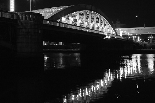 Komagata-bashi bridge, Komagata, Tokyo,  Japan