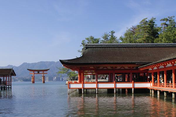 Itsukushima Shinto Shrine, MIyajima, Hiroshima, Japan