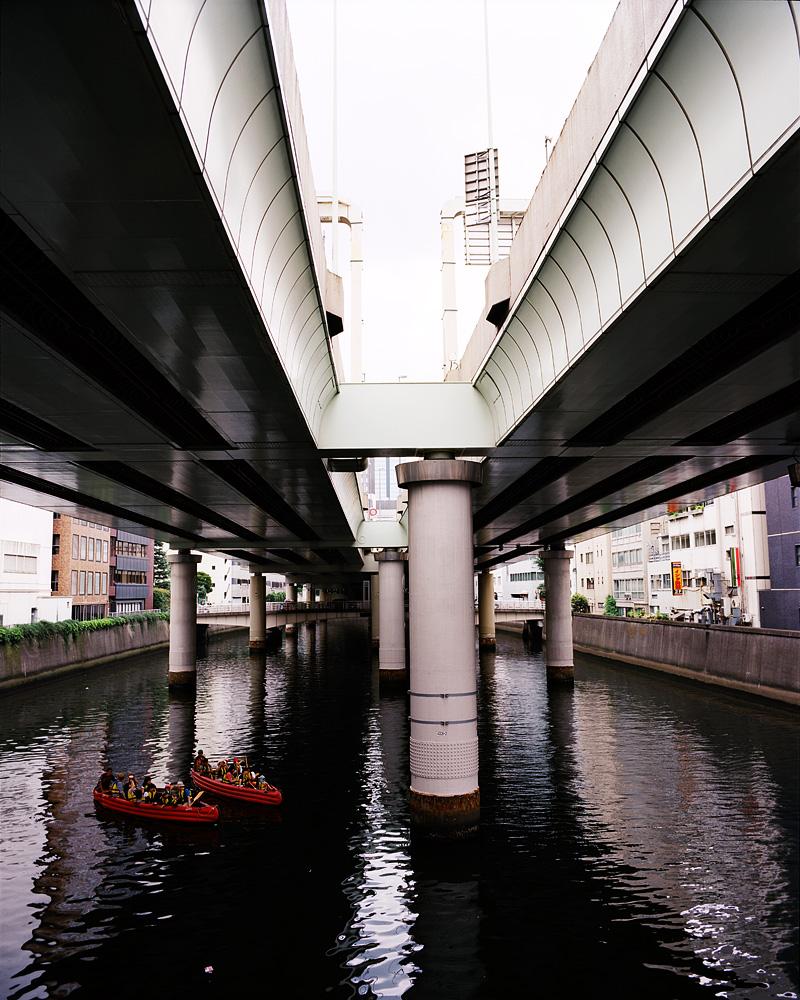 The Nihonbashi river, Tokyo, Japan