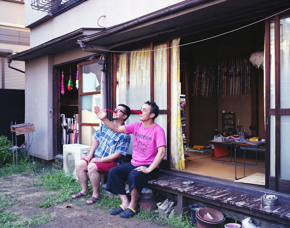 TENG Meister and Woodcarver Izumi, Suginami, Tokyo, Japan
